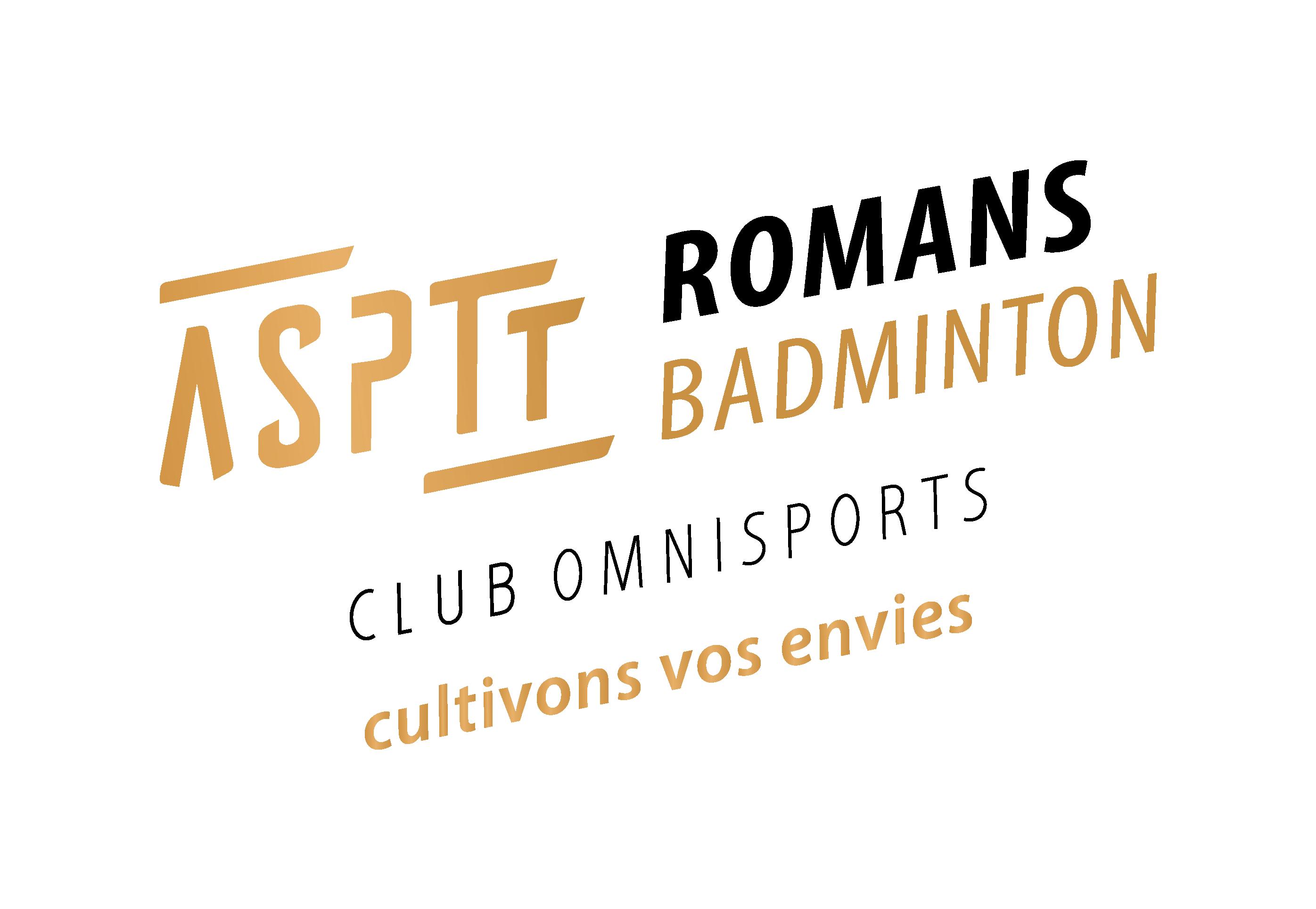 Pratiquer en Loisir le Badminton à ASPTT Romans sur isère dans le département 26.